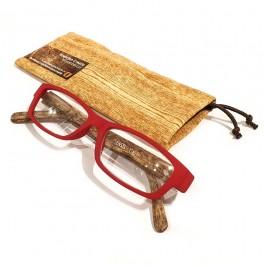 Hoentjen Creatie - houten leesbrillen / Leesbril hout-look brui