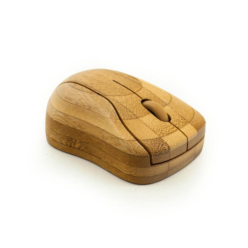 Bamboe bluetooth toetsenbord - Hoentjen Creatie