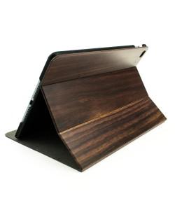 Houten iPad AIR2 bookcase - padouk - Hoentjen Creatie