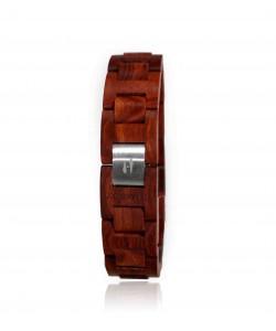 Hoentjen, houten armand - Zebrano, 18mm