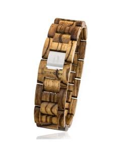 Hoentjen, houten armband - Zebrano, 22mm