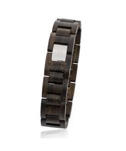Hoentjen, houten armband - Padouk, 18mm (Armband small)
