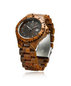 Hoentjen, wooden watch – Bora Bora