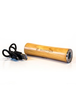 Wooden charger, design 'Power Bar' for iPhone, iPad or Samsung -maple wood