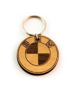 Hoentjen Creatie, Houten sleutelhanger - BMW