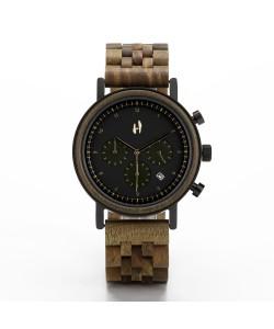 Hoentjen, wooden watch – Vancouver