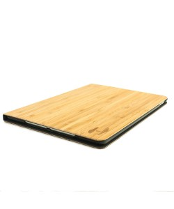 Wooden iPad AIR2 bookcase - bamboo