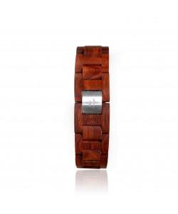 Hoentjen, Wooden bracelet  - Rosewood, 18mm
