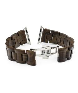 Hoentjen, wooden strap Apple Watch - Padouk, 38mm