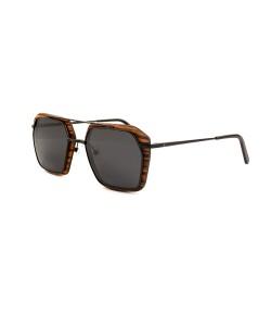 Hoentjen, wooden sunglasses - Woodbini Beach