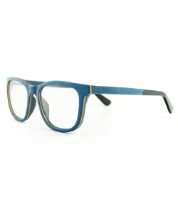 Hoentjen, wooden spectacles - Banff Blue