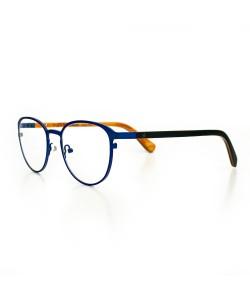Hoentjen, wooden spectacles - Yukon Blue