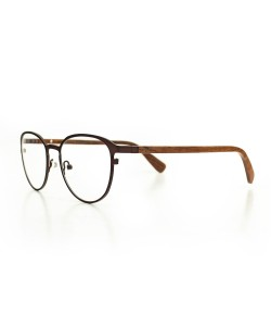 Hoentjen, wooden spectacles - Yukon Brown