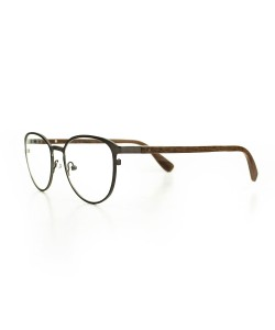 Hoentjen, wooden spectacles - Yukon Gun Metal