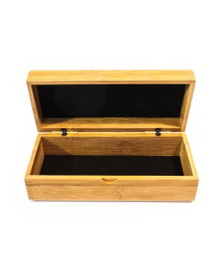 Wooden glasses box