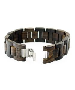 Hoentjen, Wooden bracelet  - Padouk, 22mm