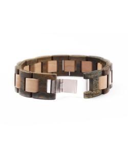 Hoentjen, Wooden bracelet - Rosewood and Maple, 18mm