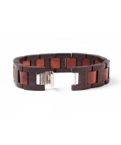 Hoentjen, Wooden bracelet - Padouk & Rosewood, 18mm