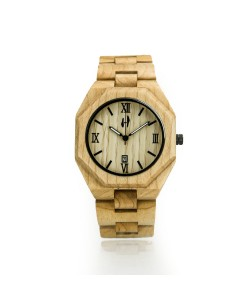 Hoentjen, wooden watch – Santa Cruz