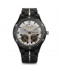 Hoentjen, wooden watch – Mustique