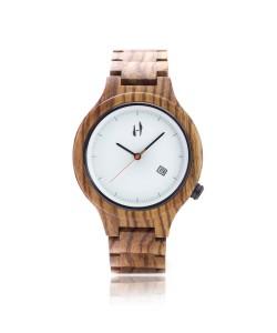 Hoentjen, wooden watch – Mauritius