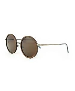 Hoentjen, wooden sunglasses - Champagne Silver