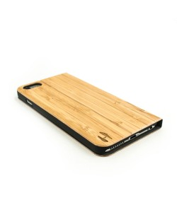 Wooden design flip case, iPhone 6 Plus / 6s Plus – Bamboo