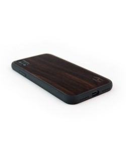 Wooden TPU case, iPhone X / XS - Padouk