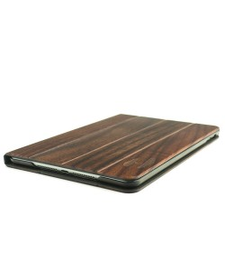 Wooden iPad MINI 4 bookcase - padouk