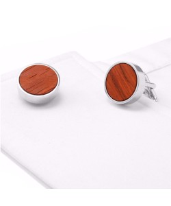 Hoentjen Creation, cufflinks - Rosewood