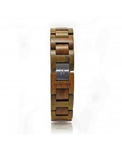 Hoentjen, Wooden bracelet  - Green rosewood, 18mm