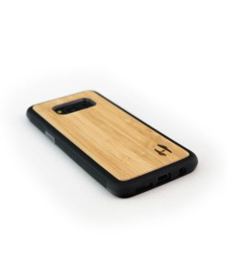 Light bamboo wood TPU case for the Samsung Galaxy S8 plus