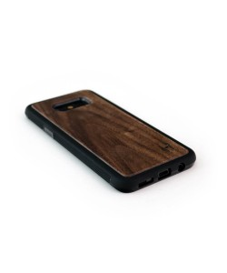 Real dark walnut wood TPU case for the Samsung Galaxy S8 plus