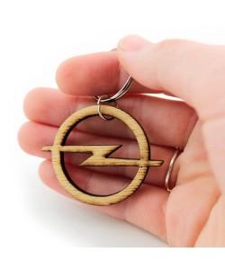 Wooden keychain - Opel