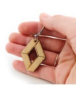 Wooden keychain - Renault