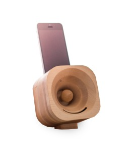 Hoentjen, wooden speaker, Trobla  - maple