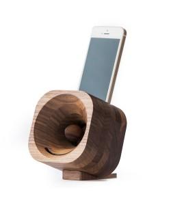 Hoentjen, wooden speaker, Trobla  - walnut