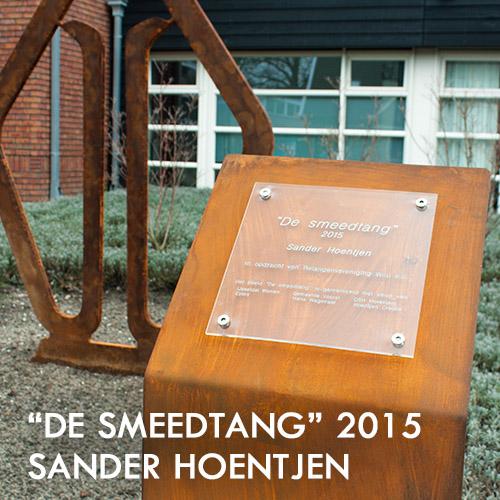 """Sander Hoentjen Kunstwerk """"De smeedtang"""""""