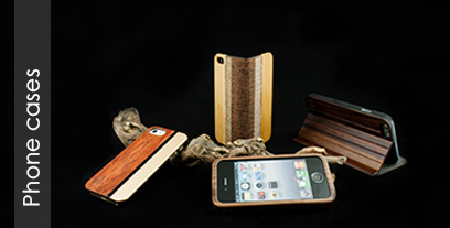 Hoentjen wooden phone cases