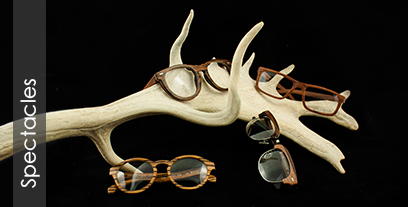 Hoentjen wooden spectacles